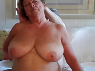 Huge Boob Mature Riding a Cock