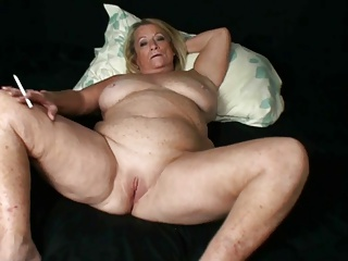 Hot Blonde Older Mature Cougar Solo