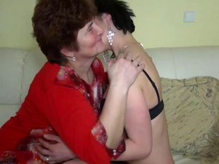 Older women fucking with younger women and licking pussy