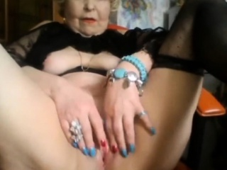 Blonde Granny Sucks And Fucks Younger Cock