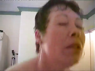 Older Woman Consoled By Dude With Hard Cock
