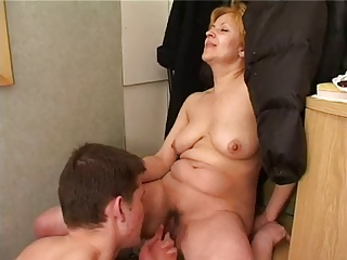 Blonde granny hardcore sex